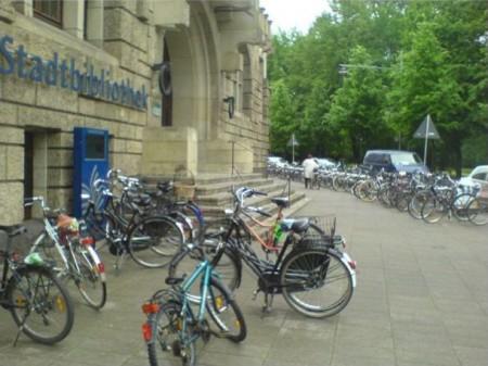 Bréma, városi könyvtár