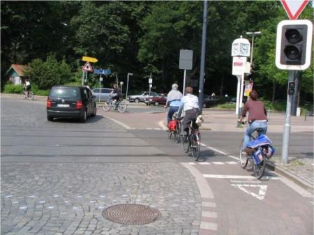 Kerékpáros körforgalom
