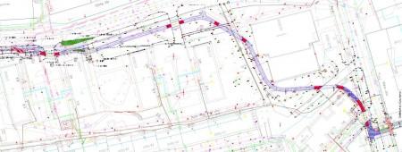 Egyetemváros projekt. Köztes terv, 1. szakasz