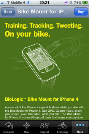 Edzésterv, túrarögzítés, megosztás telefonon, kerékpárral.