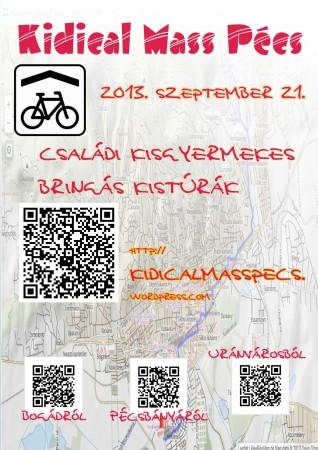 Kidical Mass Pécs, 2013. szeptember 21.