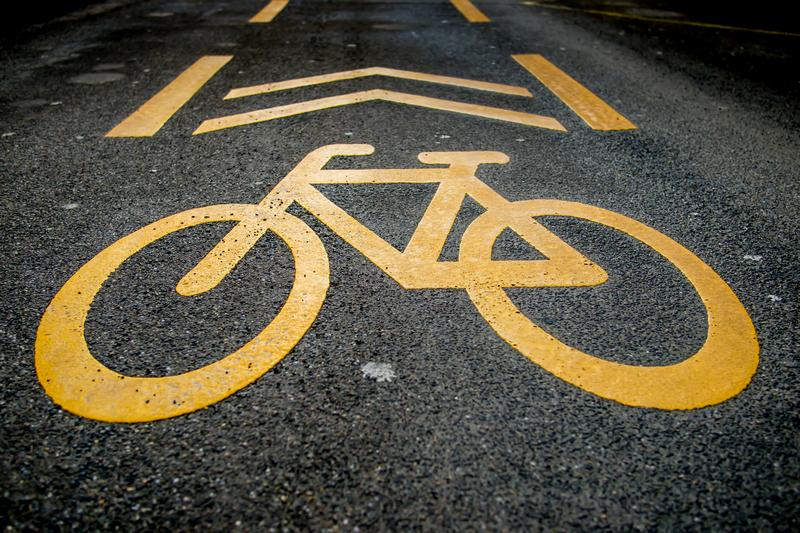 kerékpáros nyom