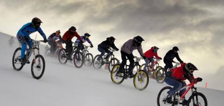 Télen kerékpározni egészséges! (forrás: fb - Bicycle Photo Album)
