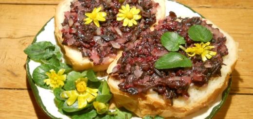 Szedres-gombás szendvics. Megtanulható